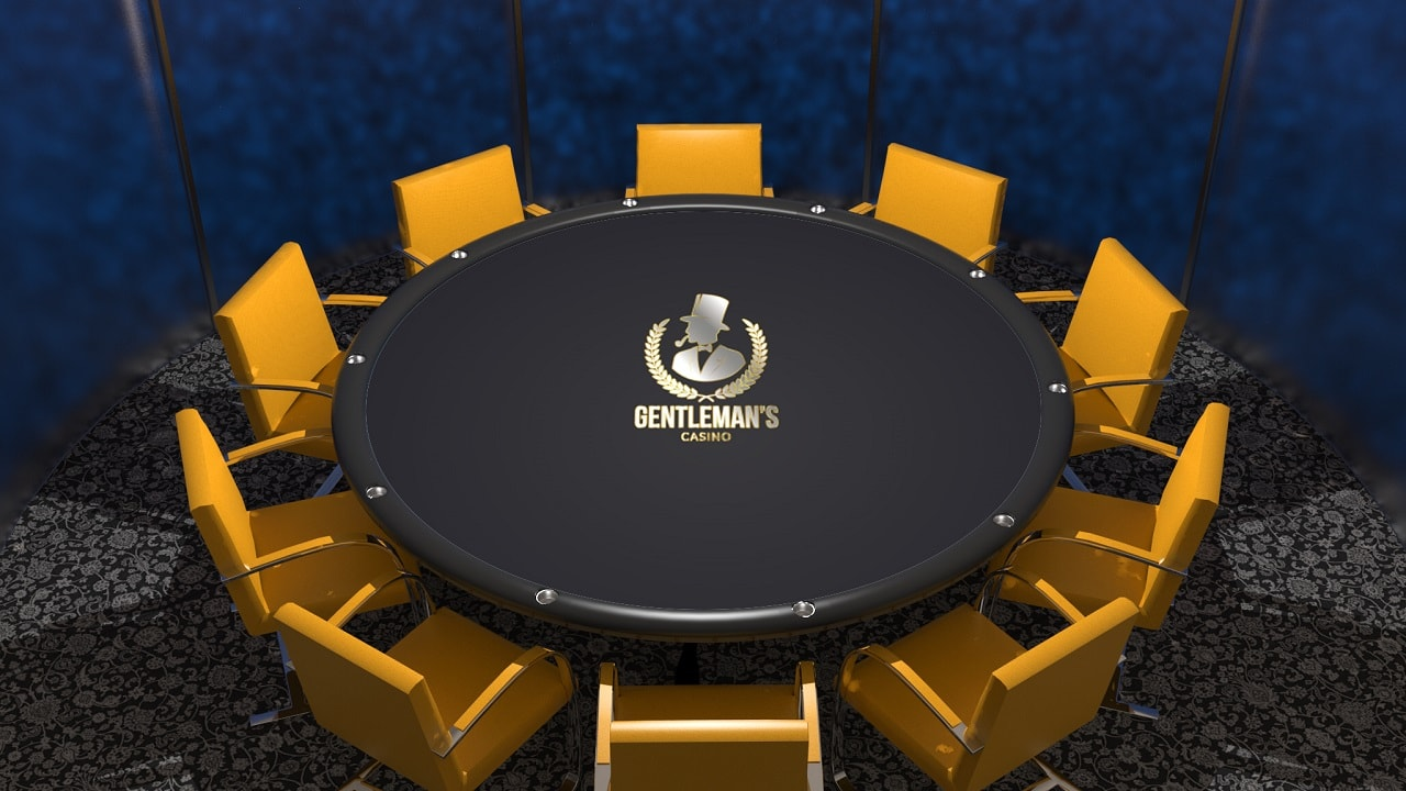 Branded poker table