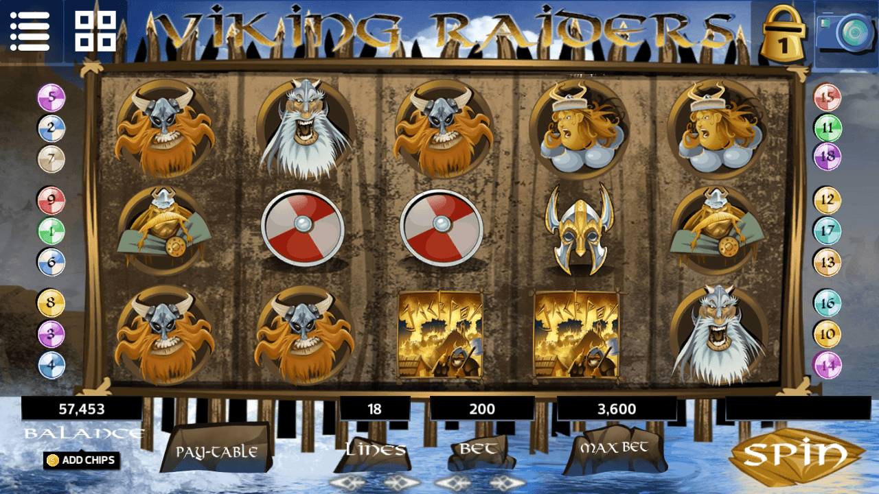 Slot - Viking Raiders