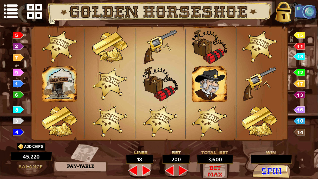 Slot - Golden Horseshoe